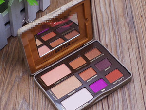 Dropshipping 2017 hot New Peanut Butter Eyeshadow Chocolate Chip Palette y Jelly Sombra de ojos en stock