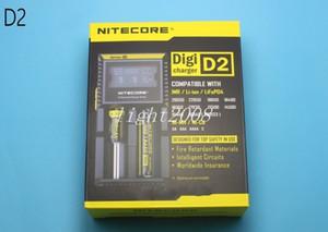 IMR 리튬 이온의 Ni-MH 니켈 카드뮴 충전지 FJ138위한 NITECORE D2 Digicharger 지능형 LCD 디스플레이 intellicharger 스마트 범용 충전기