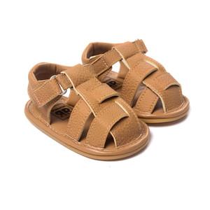 Sommer Kinder Baby Mädchen Jungen Strand Mokassins Ledersandale Erste Wanderer Schuhe Infant Prewalker Kleinkind Schuhe Kinder Schuhe Baby Erste Wal