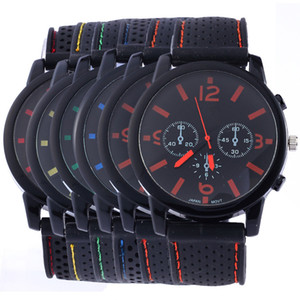 Fashion Military Men watch GT race Sport watches Big Numeral Dial GT Men sports quartz watch Cool Men Wristwatch