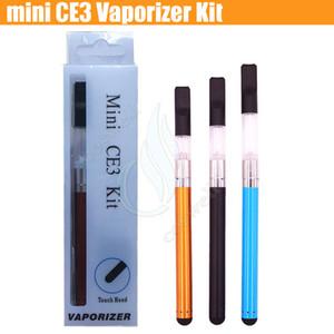 Mini CE3 Blister Başlangıç Kiti Buharlaştırıcı tomurcuk dokunmatik 280 mAh pil O kalem Kartuşları atomizer Buhar WAX kalın Yağ tankı e çiğ sigara vape DHL