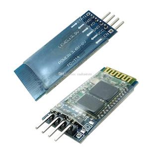 무선 직렬 4 핀 블루투스 RF 트랜시버 모듈 HC-06 RS232 백플레인 B00284 BARD