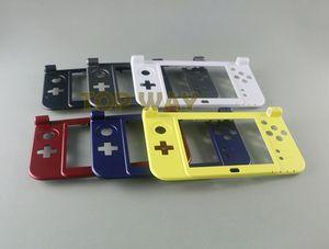 Nova Versão Para Novo 3DSXL 3DSLL NOVO 3DS XL LL Substituição Da Dobradiça Inferior Para Baixo Médio Shell Parte LCD