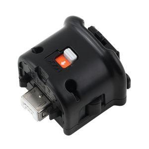 MotionPlus Motion Plus Adaptateur accélérateur de capteur pour console Nintendo Wii Télécommande sans fil Wiimote Controller nunchuk Enhanced Black White