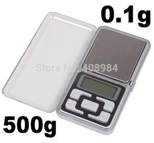 vente chaude livraison gratuite Mini 500g / 0.1g affichage numérique Pocket Digital Scale bijoux Balance de poids