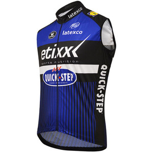 WINDSTOPPER WINDPROOF 2016 ETIXX QUICK STEP PRO TEAM BLUE SOLO CHALECO SIN MANGAS CYCLING JERSEY CYCLING DESGASTE TAMAÑO: XS-4XL