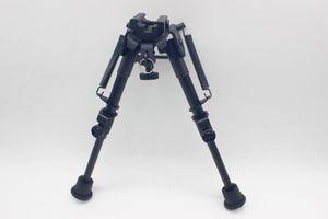 Nuovo 6-9 '' Tactical Hunting Rifle Picatinny girevole Stud Mount Bipod Stabilizzatore con 20mm Bipod Adapter