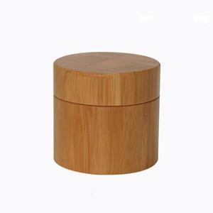 Бесплатная доставка 150 мл бамбуковые банки для косметики, крем, маска порошок, 150 г бамбуковые банки косметический пакет