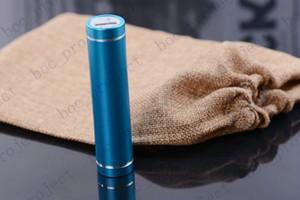 Universal-2600mAh Mobile Zylinder-Energien-Bank-externes Unterstützungsladegerät-Satz für Handys mit Kleinkasten 100pcs / lot