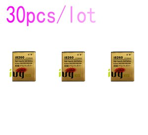 30pcs lot 2450mAh Gold Rechargeable Replacement Battery for Samsung Galaxy Core i8260 G3502U G3502 G3508 G3509 i8268 i829 Bateria Baterij