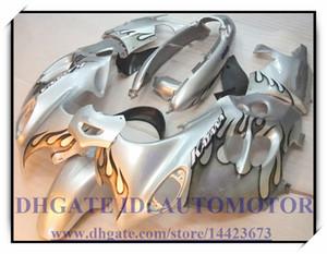 ABS новый комплект обтекателей 100% подходит для Suzuki GSX600F / 750F 2003-2006 2004 2005 Katana GSX 600F 03-06 Katana # AH876 SILVER FLAME