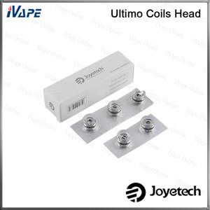 100% original joyetech ultimo bobinas cabeça mg clapton 0.5 ohm mg 0.5ohm MG MG QCS 0.25ohm cabeças de bobina de cerâmica para Ultimo atomizador