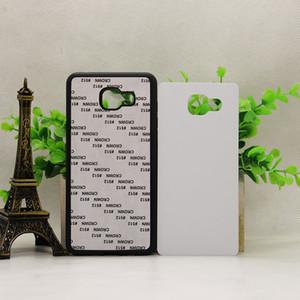 for Samsung Galaxy S7 edge s9 s9 plus S8 S8 PLUS A8 2018 A8 PLUS 2018 Rubber TPU DIY sublimation case with aluminium metal sheet Glue 50P
