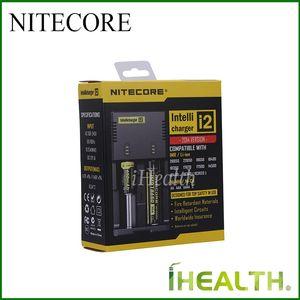 Подлинный! NITECORE i2 i4 Intellicharger оптимизированная система зарядки для размещения батарей IMP с функцией интеллектуального автоматического обнаружения