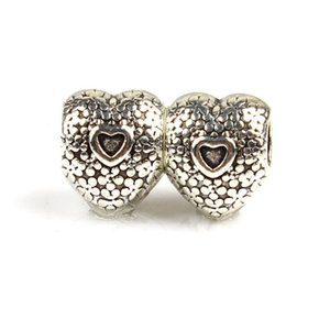 Replacement Alloy Charm Bead Sweet Heart Within Fashion Women Jewelry Stunning Design European Style For DIY Bracelet