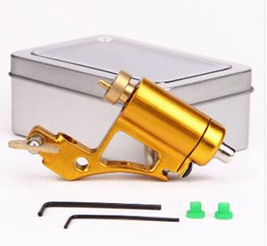 Профессиональный роторный татуировки алюминиевого сплава CNC татуировки рамка татуировки пистолет для шейдер лайнера подходят стандартные иглы 4 цвета