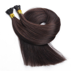 Double Drawn 100 ٪ Human Hair 24 '' Micro in hair extensions 20 '' clip، natural natural، 2 Lots