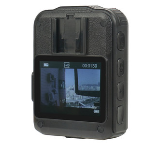 Ucuz Mini DV WZ9 Çift Kartları Vücut Aşınmış Kamera HD1080P Infared CMOS Su Geçirmez Mini DV