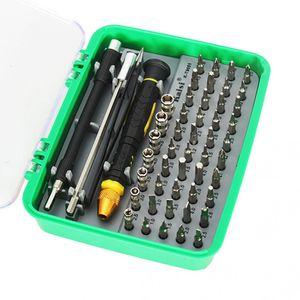 Kaisi 51-en-1 kit de herramientas de la abertura versátil del destornillador de la reparación de Electrodomésticos Móviles Inicio