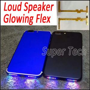 Per iPhone 7 Altoparlante Altoparlante Flex Fai il tuo telefono Foro dell'altoparlante Shinning DIY Glowing Flex per iPhone 7 7Plus 6 6S Plus