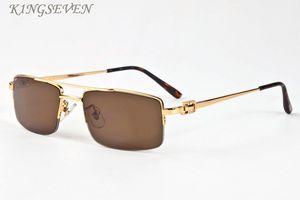 2020 мода очки для женских большого кадра Урожая ретро очков рогов буйвола очки половины кадра мужских солнцезащитных очков мужчину с коробками