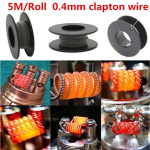 Premade bobinler Flat Heating Wire Sigortalı clapton bobinleri Hive prebuilt bükümlü bobin Alien Mix bükümlü Quad Tiger Isıtma Direnci RDA RBA bobinleri