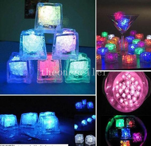 Litecubes RAINBOW Switch Light up LED Ice Cubes Not disposable 32mmx32mm Big Size with 6 colors DROP SHIPPING