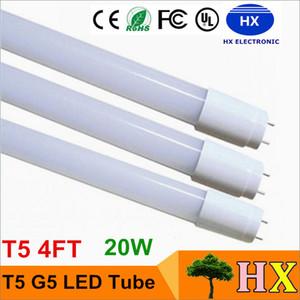 ingresso AC85-265V tubo T5 LED lampada LED fluorescente G5 luce 1.2M 1.200 millimetri 4FT SMD2835 120led 20W 2400lm T5 alta luminosa