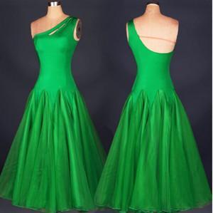 2017 Custom Made Ballroom Competition Dance Dress Lady Dress Ballroom Standard Dance Mujeres vienés Waltz Dress Dancewear Dance Dress