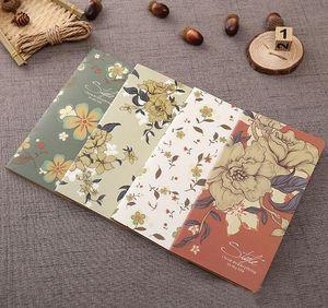 Cadılar bayramı Dizüstü Not Defteri Notları Bloknotlar Moda Noel hediyesi hediye olarak kraft kağıt notebooklar renkli dergisi dizüstü süt