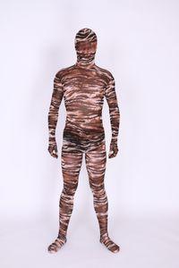 Nouveau style camo 2 clors Zentai Unitard Spandex Skin Costume Party Halloween Adult Costumes
