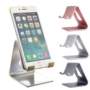 Universal-Aluminium-Metall Handy Schreibtisch Halter Stand für iPhone / Samsung Telefon, Handy Tablet Schreibtisch Halter für iPad Tablets