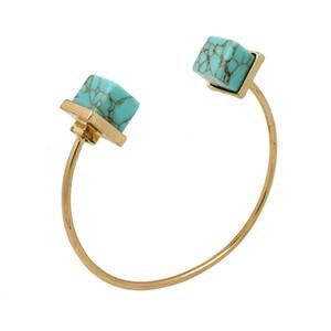 2016 braccialetti del ciclo del filo del turchese Braccialetti regolabili delle donne di alta qualità per gli accessori dei monili di modo delle ragazze Vendita calda