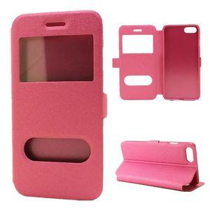 Per Iphone 11 PRO MAX X XS XR 8 7 Plus 6 6S Open Window cassa del raccoglitore del cuoio del Caller ID TPU display seta borsa stand copertura della pelle di moda