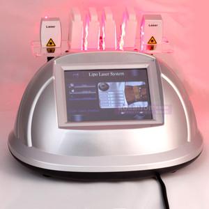 Laser di Lipo che dimagrisce macchina per il corpo che rimuove rimozione grassa con i rilievi del laser 6pcs Macchina di perdita di peso di uso della casa della macchina di Laserlipo