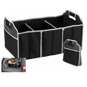 غير المنسوجة النسيج سيارة جذع طوي المنظم تخزين مربع حقيبة أشتات الغذاء لعبة كتاب كولث التخزين للسفر التخييم