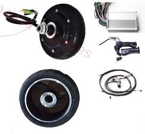 """Motor elétrico do cubo de roda de 5in 250W 48V, peças elétricas do """"trotinette"""" de DIY, motor elétrico do cubo para o """"trotinette"""""""
