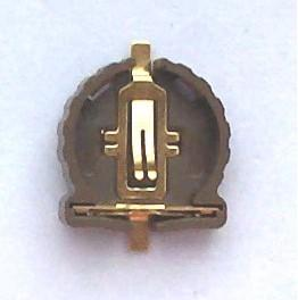 1200pcs Lot SMT battery holder  socket  clip for CR1220 BR1220 button cell RoHS