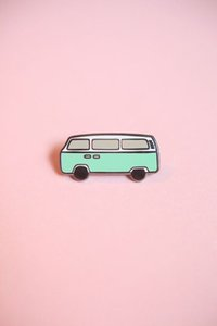 Nachgemachte harte Emaille Midibus Pin Badge zum Verkauf Cute Automobile Revers Pin