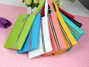 Ms mini pièce porte-monnaie sac promotionnel sac téléphone sac sac pièces uniques Multicolor sac à bandoulière Zipper portefeuille forfaits téléphone mobile