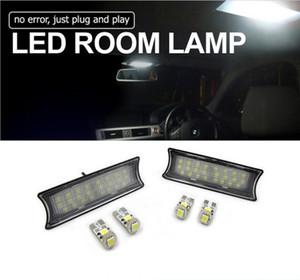 1Pair Surper Bright Interni LED Automobiles Car Interior Lights Cupole lampade a soffitto per BMW E60 / 65/87 Error Free