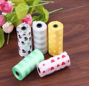 borse Pet Dog Waste Poop Pooper Scoopers per Borse on Board biodegradabili 5 colori perros bolsa para cacas 20.170.311 #