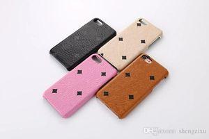 Mode luxus ledertasche für iphone x xr xs max 6,5 zoll rückseitige abdeckung für iphone 6 6s 7 8 plus galaxy note 8 gebrandet geschenk case hohe qualität