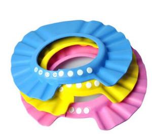 1 Pc Lot Adjustable Spa Hair Salon Home Shower Bathing Elastic Cap 4 Stages EVA bathing Cap For Babies Kids