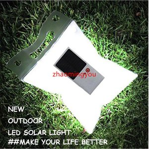 Waterproof Inflatable LED Light Solar Lantern Air Solar Camping Flashlight Bag Foldable Lantern For Hiking Camping, Travelling Wfdpc