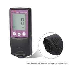 Freeshipping New Digital Schichtdickenmessgerät Handheld Paint Taster Anzeige Tester FN Fe / NFe Beschichtungen Diagnose-Tool Datenspeicherung