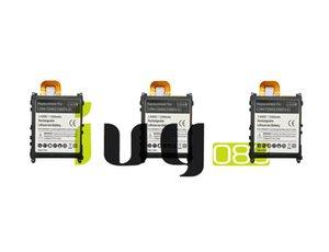 3pcs / lot 3300mAh LIS1525ERPC Batería de repuesto para Z1 L39H L39T L39U C6902 C6903 C6906 C6916 C6943 Baterías Batteria Batterie Batterij