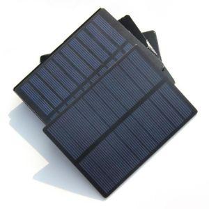 고품질! 1.3W 5V 미니 태양 전지 솔라 모듈 다결정 PET DIY 솔라 패널 충전기 110 * 80 * 3MM 무료 배송