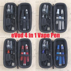 Dry Herb Vapes Pen AGO G5 Vaporizadores Cigarrillo electrónico 4 en 1 Aceite de cera Dab Dome UGO Passthrough USB 4 en 1 Vapor Starter Kit