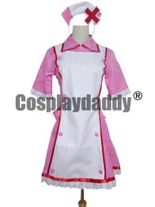Vocaloid 2 Hatsune Miku Enfermeira Irmã Cosplay Traje H008